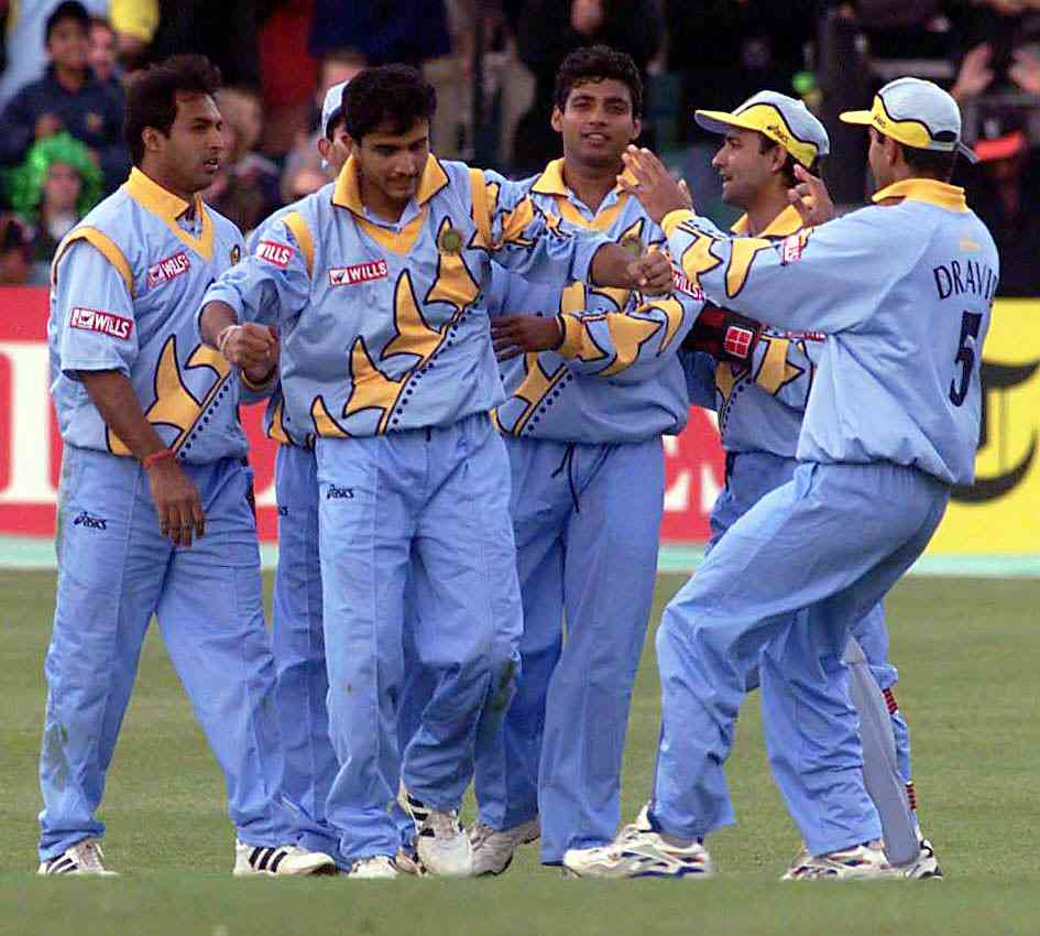 Cricket World Cup 2019: A look at India's jerseys over the years