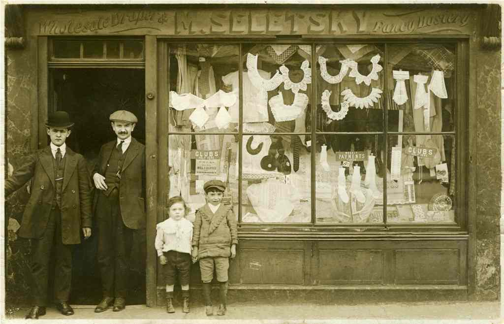 My Grandparents' Shop, from the Migration Museum's '100 Images of Migration' exhibition © Sir Stephen Sedley