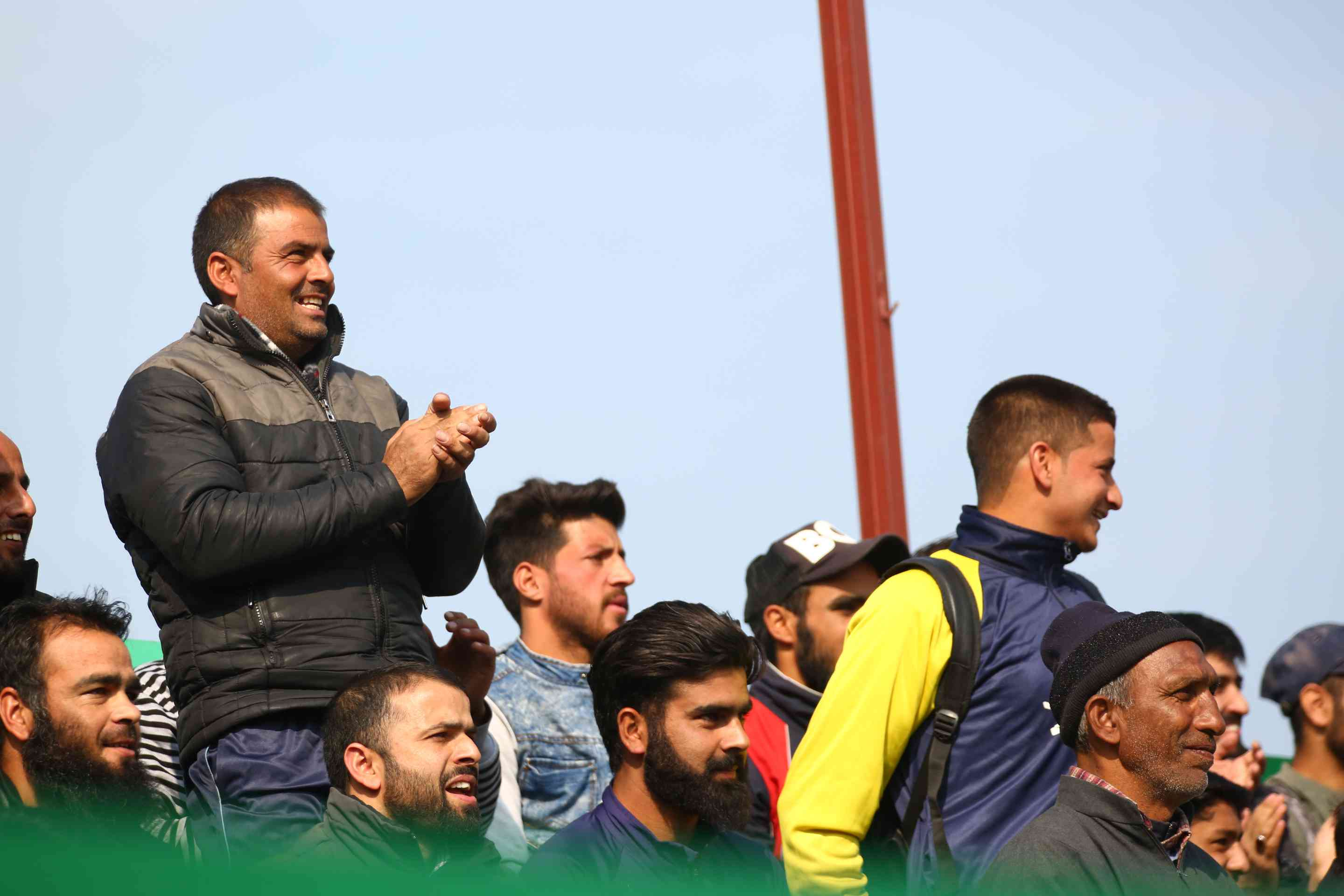 The fans turned up in droves | I-League