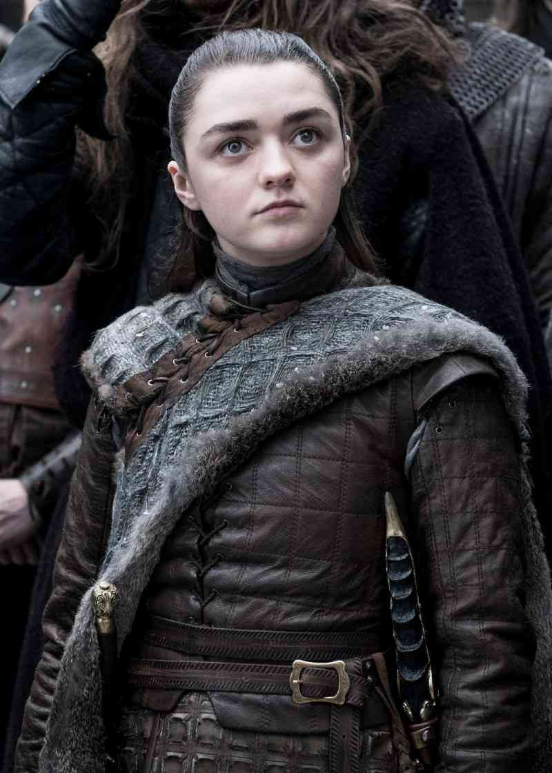 Maisie Williams as Arya Stark. Courtesy HBO.