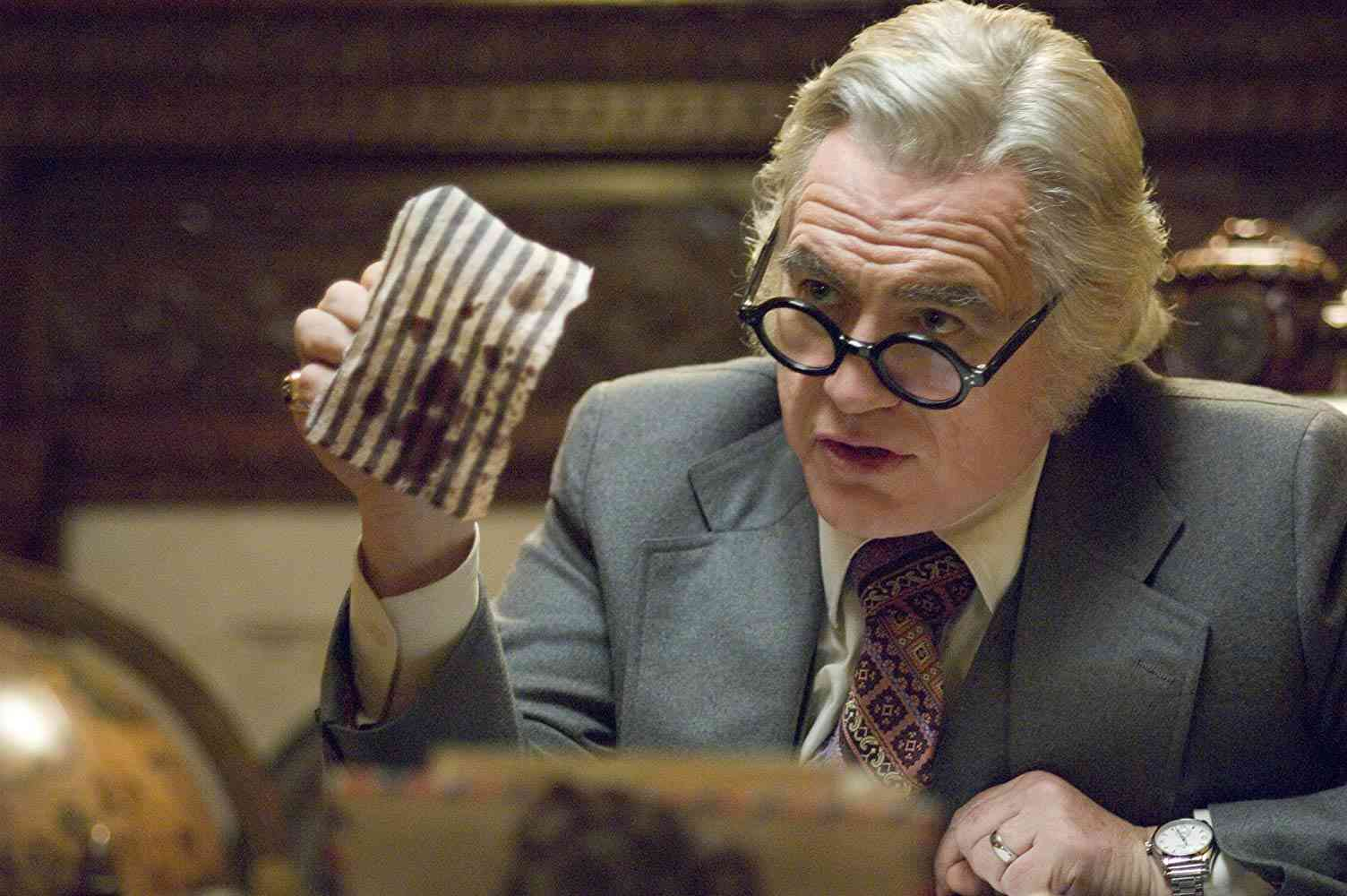 Brian Cox as Melvin Belli in Zodiac (2007). Courtesy Paramount Pictures.