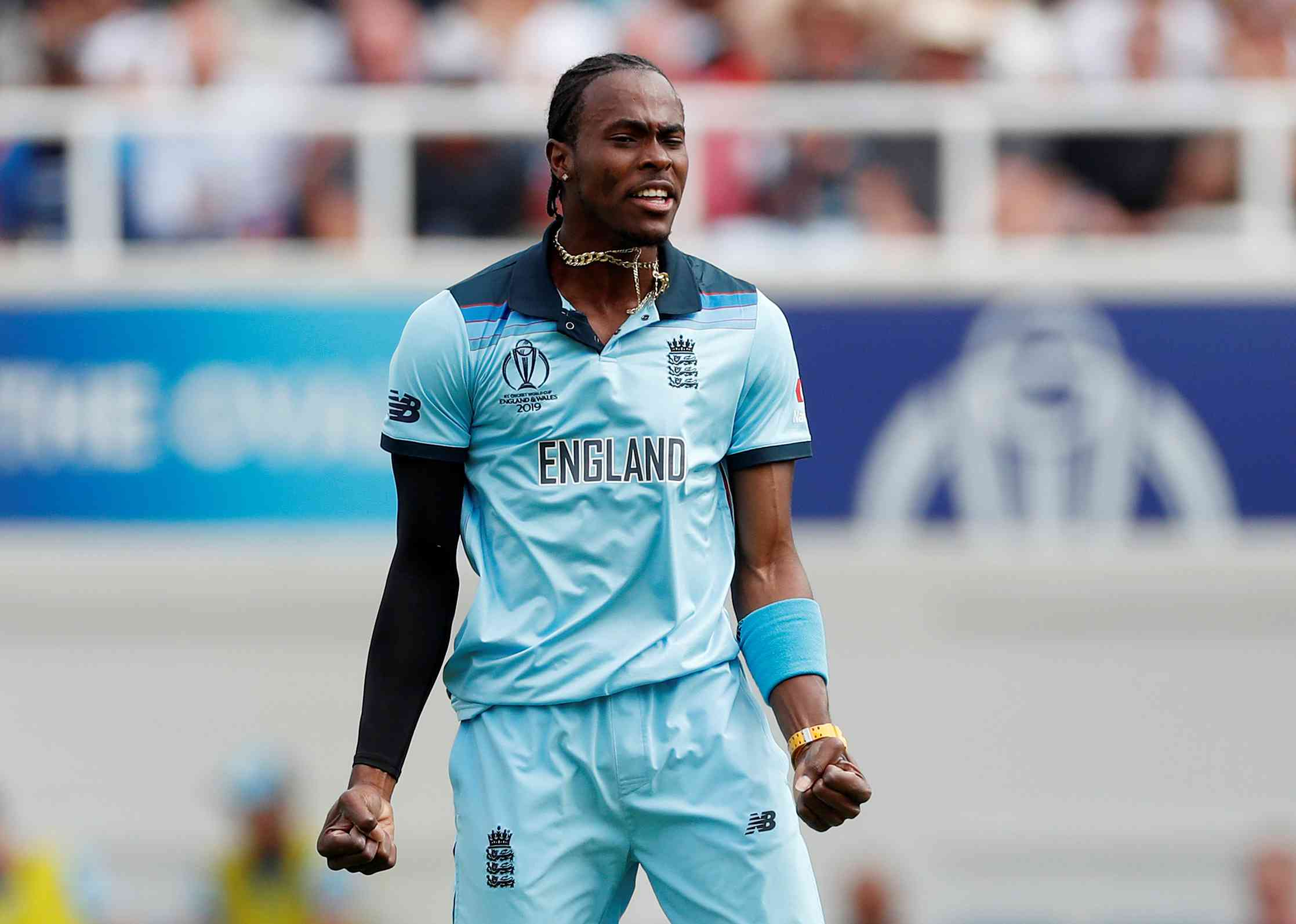 Jofra Archer during the ongoing World Cup – Reuters