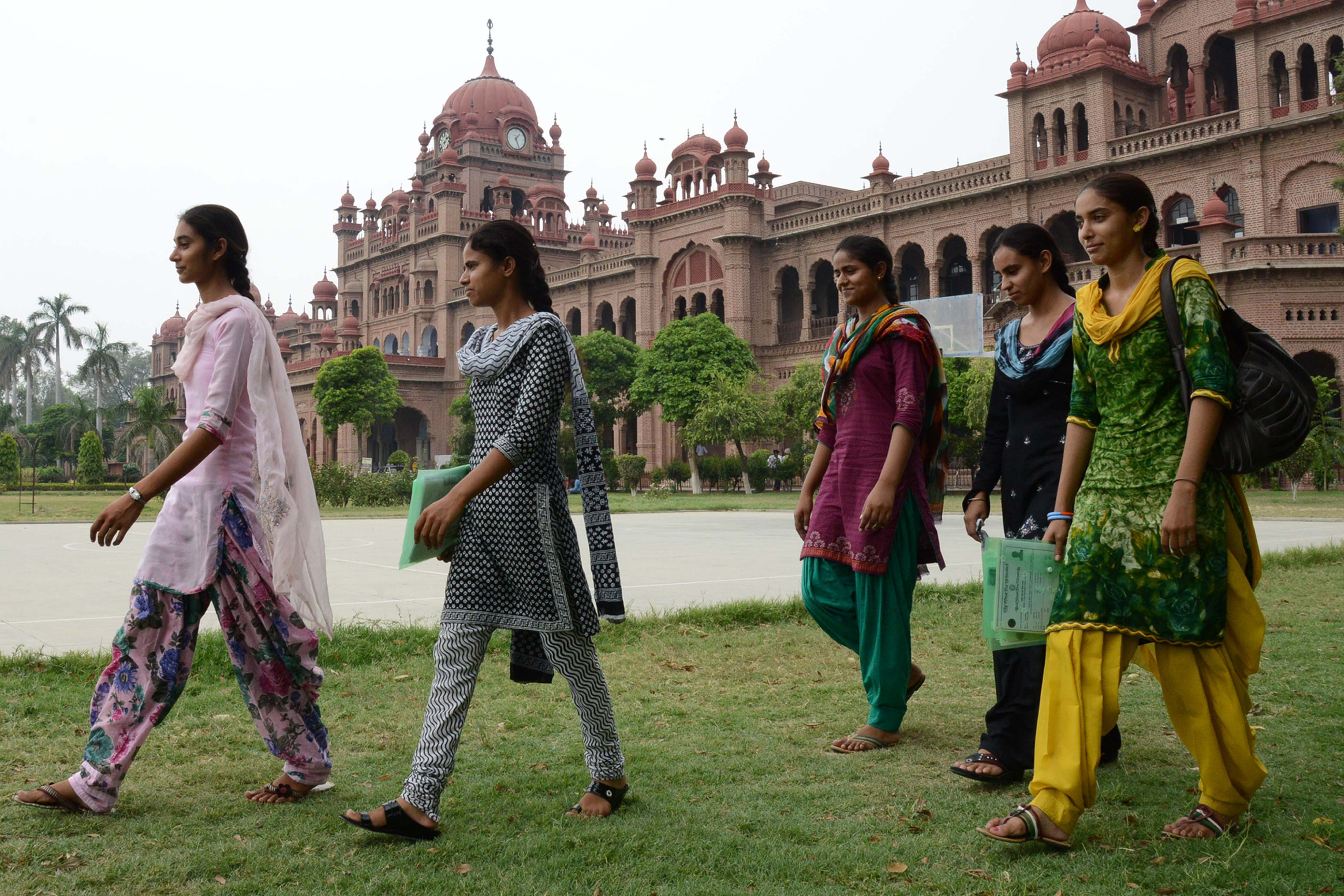 Khalsa College in Amritsar. Narinder Nanu/AFP
