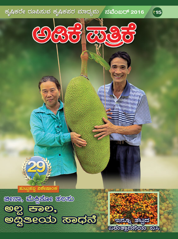 A jackfruit special issue cover of Adike Patrike. Photo courtesy: Adike Patrike