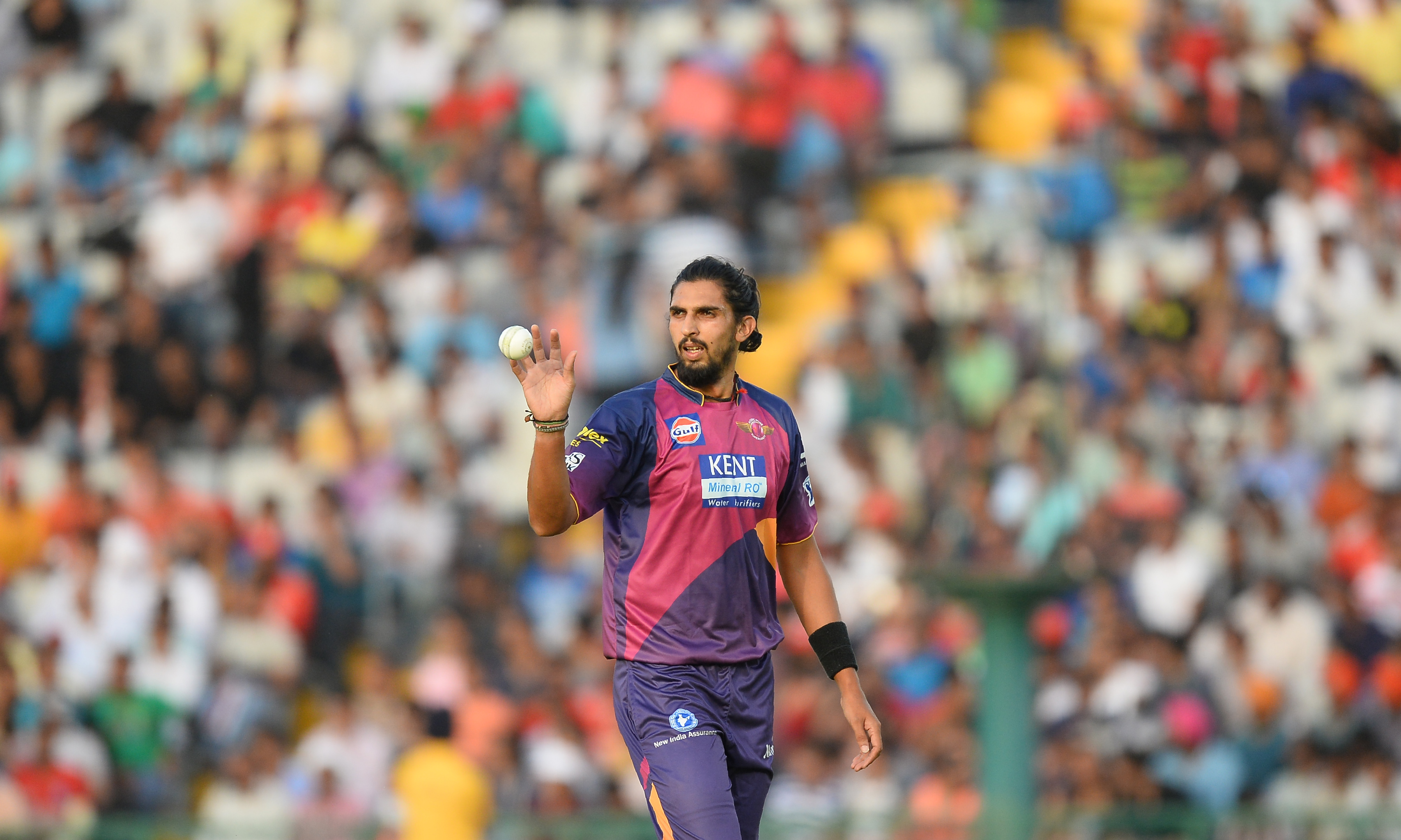 Ishant Sharma played for Rising Pune Supergiant last season but was let go this year. AFP