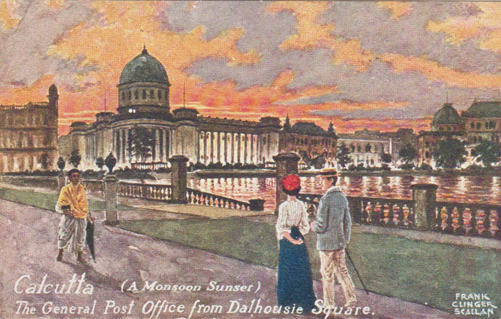 The General Post Office from Dalhousie Square. Source: Author's personal collection