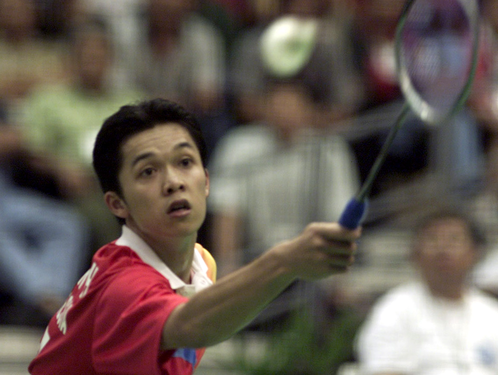 The legendary Taufik Hidayat in action during 2001 | Picture courtesy: Reuters