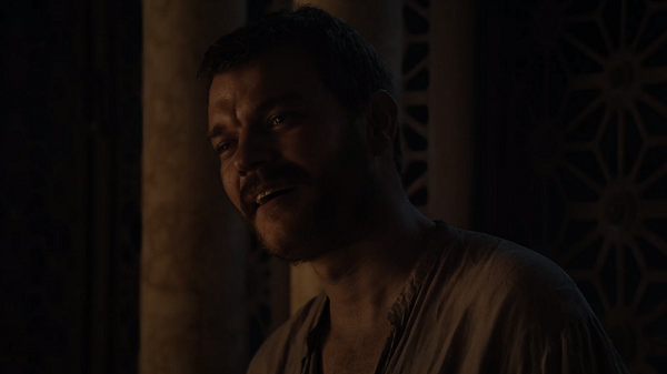 Euron Greyjoy (Pilou Asbaek) in Game of Thrones. Courtesy HBO.