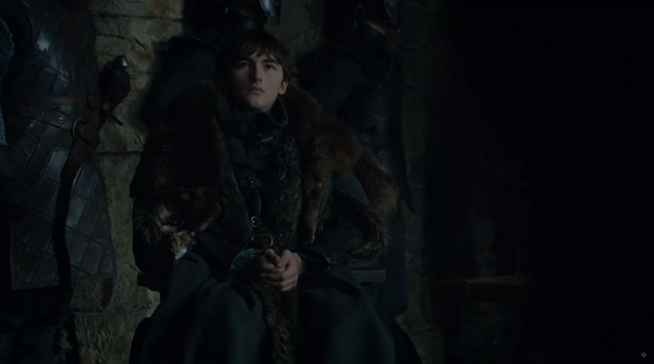 Bran Stark (Isaac Hempstead Wright) in Game of Thrones. Courtesy HBO.