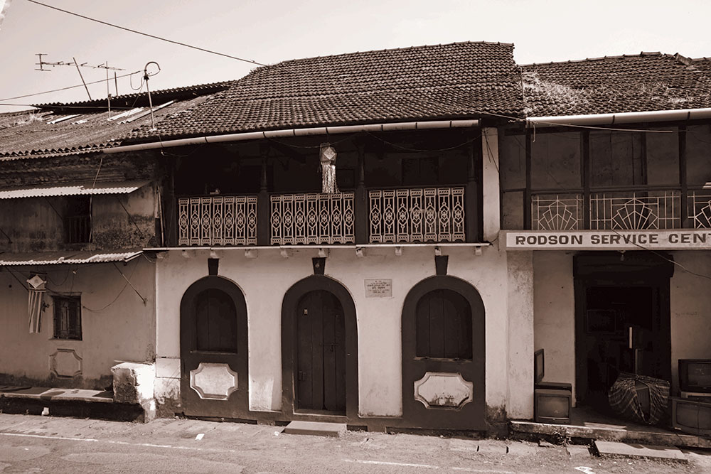 Gaitonde's maternal home in Bicholim, Goa. Courtesy: Archives of Bodhana Arts and Research Foundation