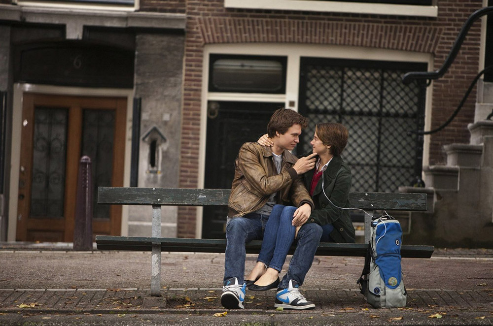 """The Fault in our Stars"", both novel and film, deals with a terminally-ill character. Photo credit: Fox 2000 Studios"
