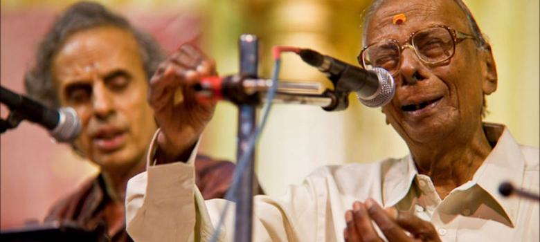RK Srikantan, last link to a golden age of Carnatic music, dies at 94