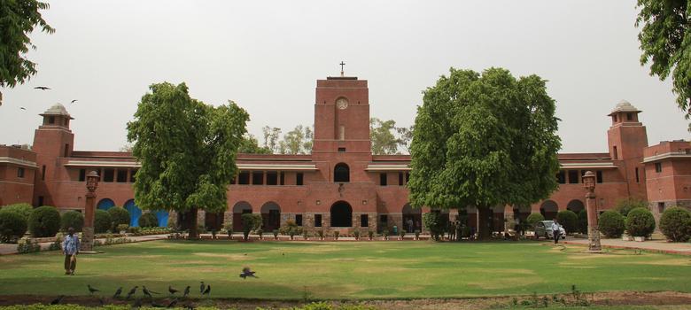 'Mandir yahi banega': Inflammatory graffiti found on chapel door of Delhi's St Stephen's College