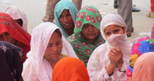 Fifty kilometres from Delhi, hundreds of Muslims have become refugees overnight