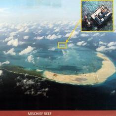 दक्षिण चीन सागर के विवादित द्वीप पर चीन ने विमान उतारे, ताइवान ने अपना युद्धपोत भेजा