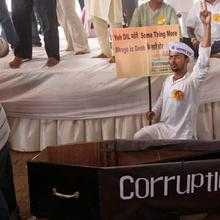 BJP slams corruption in Delhi, welcomes it in Karnataka