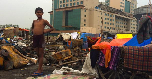 In a slum fire outside Delhi, the frightening vision of a future smart city