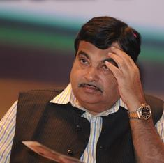 Congress wants Nitin Gadkari sacked for giving tunnel contract to firm with family links