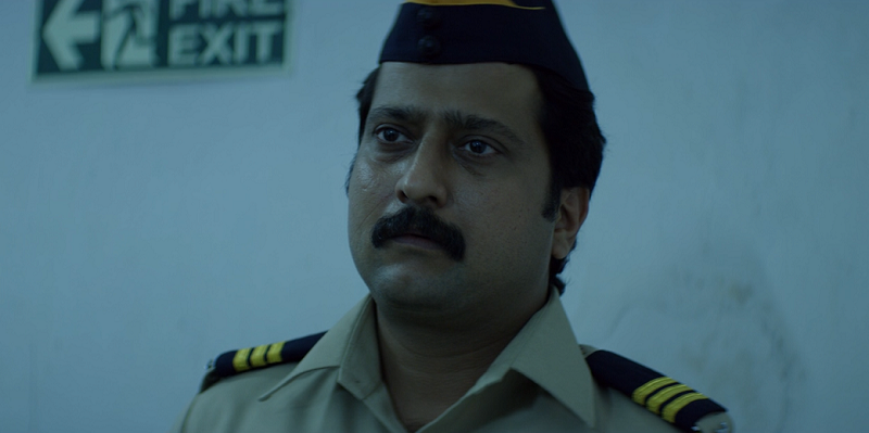 Jitendra Joshi as Katekar in Sacred Games. Courtesy Netflix.