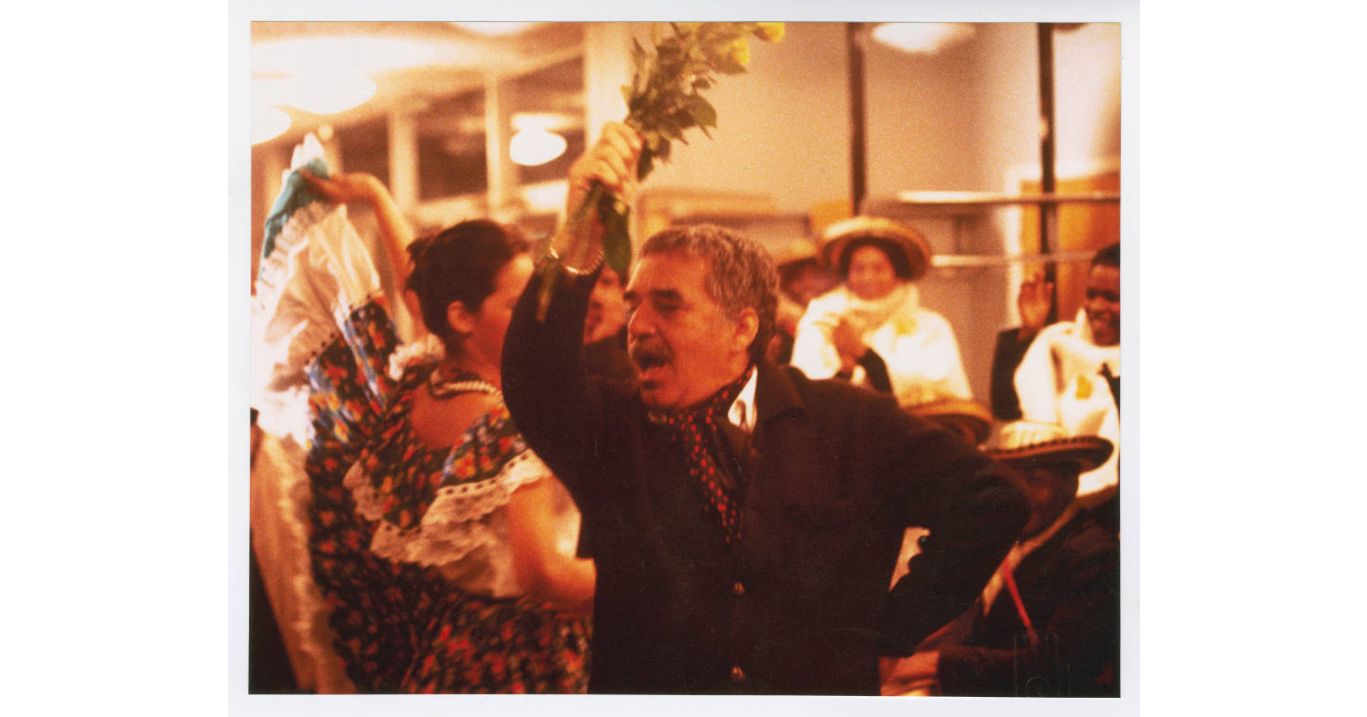 Gabriel Garcia Marquez, dancing, undated (Harry Ransom Center at The University of Texas, Austin)