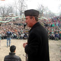Why an anxious Ghulam Nabi Azad is working overtime in Kashmir elections