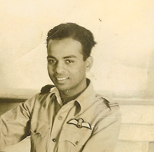 Flying Officer Murkot Ramunny. Image credit: M Ramunny. Author provided.