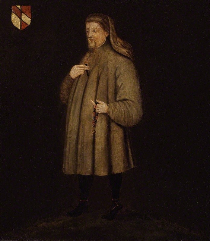 Geoffrey Chaucer. Image credit: National Art Gallery/Wikimedia Commons[Licensed under CC BY Public Domain mark 1.0]