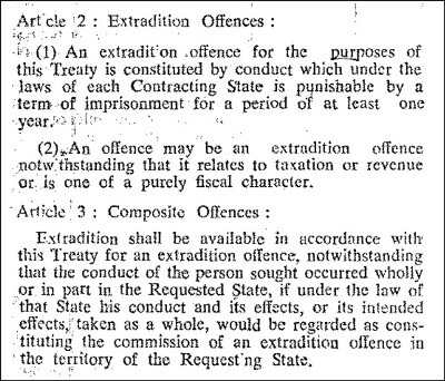 Source: India's extradition treaty with UK