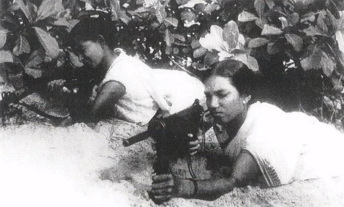 An archival photo of the Naxalbari uprising. Courtesy Kasturi Basu, Mitali Biswas and Dwaipayan Banerjee.