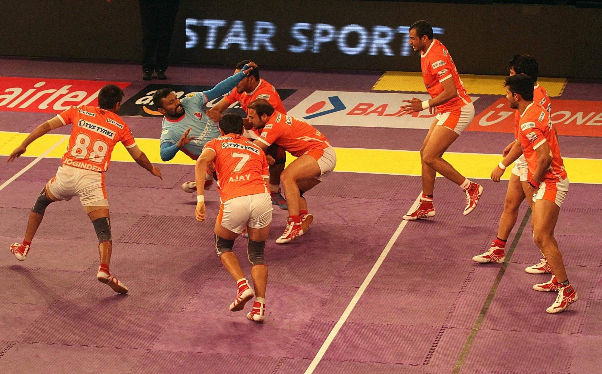 Pro Kabaddi has become the second most popular sports league in India after IPL (Image: IANS)