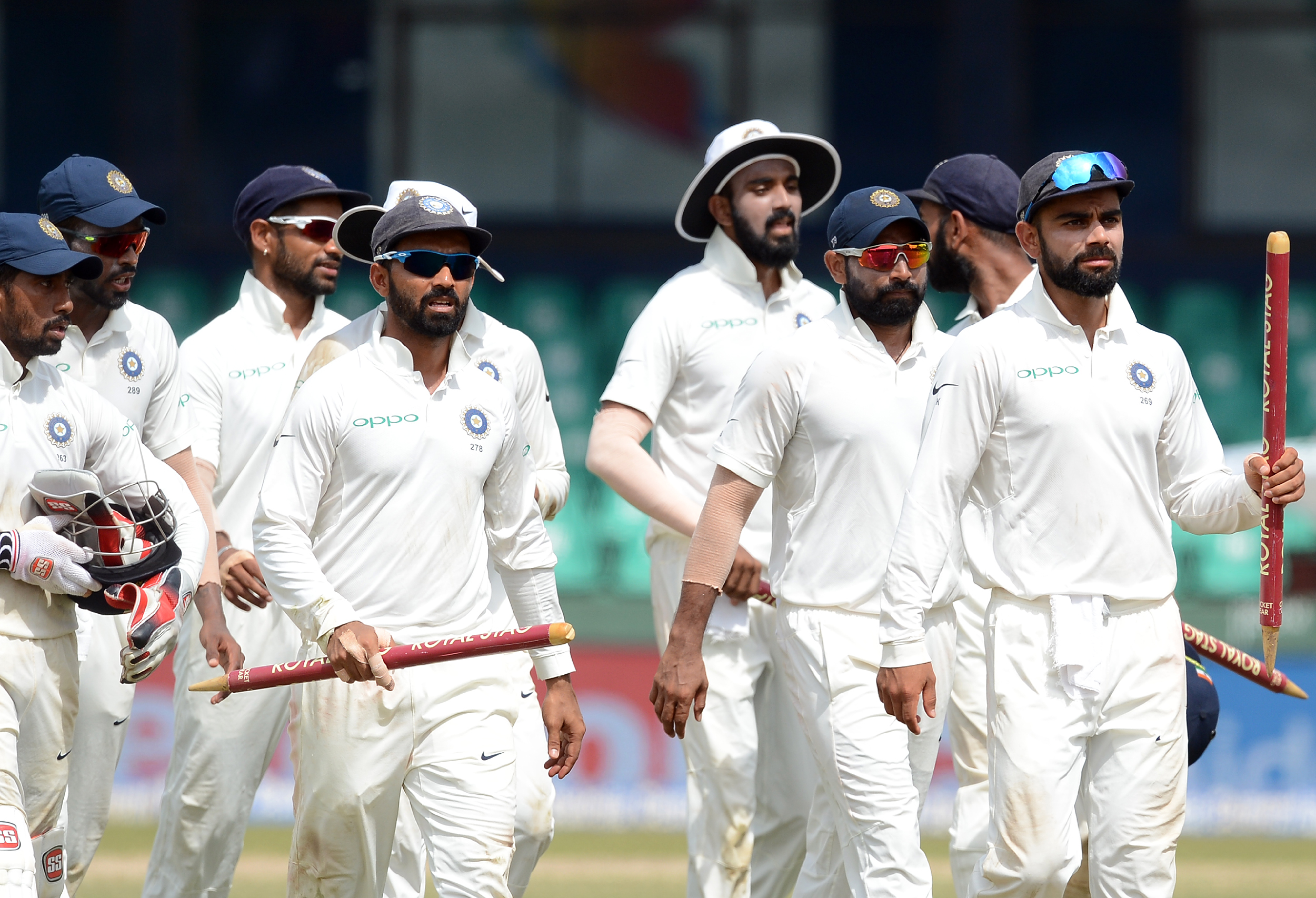 India have never won a full Test series overseas. Photo: AFP