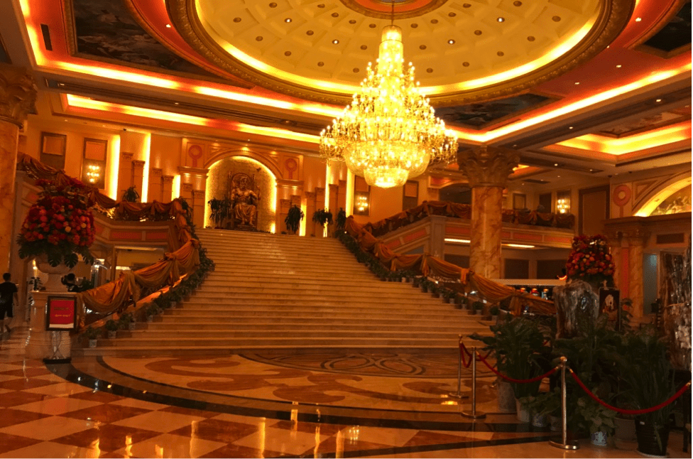 Inside the Kings Romans Casino in the Golden Triangle Special Economic Zone.