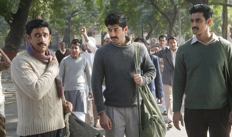 Amit Sadh, Mohit Marwah and Kunal Kapoor in Raag Desh.