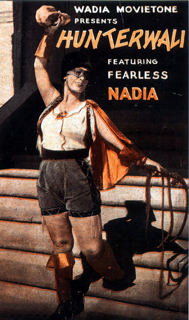 Fearless Nadia. Credits: Wikipedia CC BY