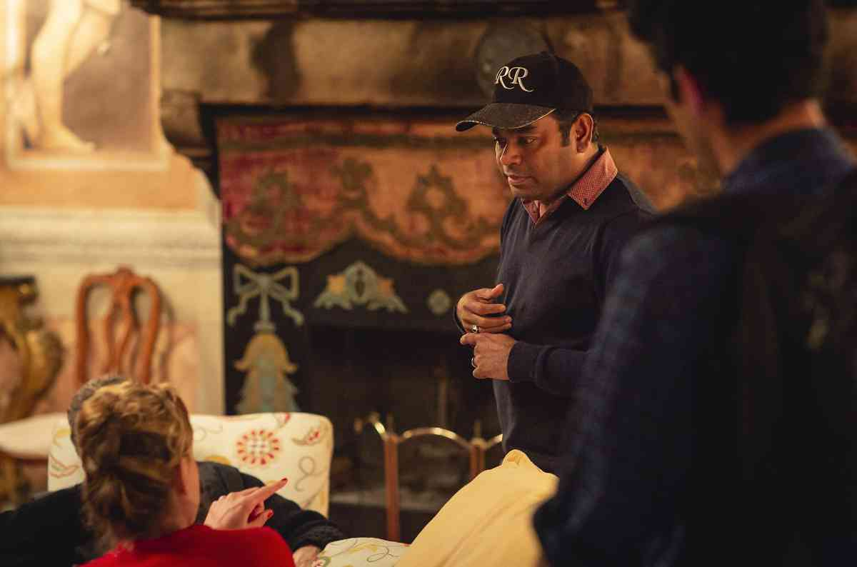 AR Rahman on the sets of Le Musk. Photo by Moein Asadi.