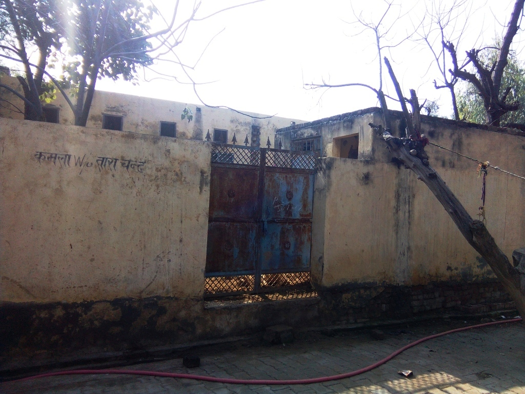 Uninhabited since 2010. This is the house of Tara Chand, who along with his disabled daughter, was killed in the 2010 violence. (Photo credit: Abhishek Dey).