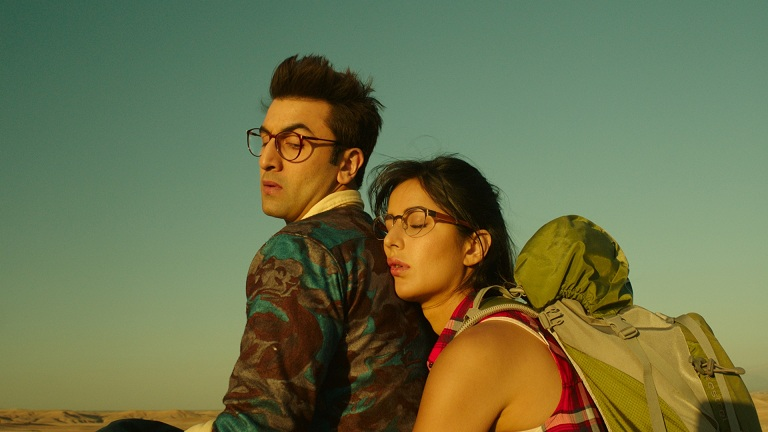 Ranbir Kapoor and Katrina Kaif in Jagga Jasoos. Image credit: Pictureshuru.