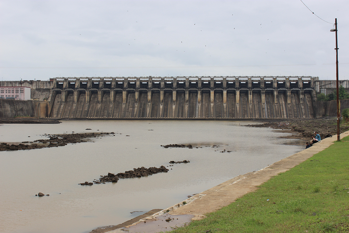 Bargi, the first major dam to be completed on the Narmada River in Madhya Pradesh displaced more than one lakh people from 162 villages. (Photo credit:  Kumar Sambhav Shrivastava).