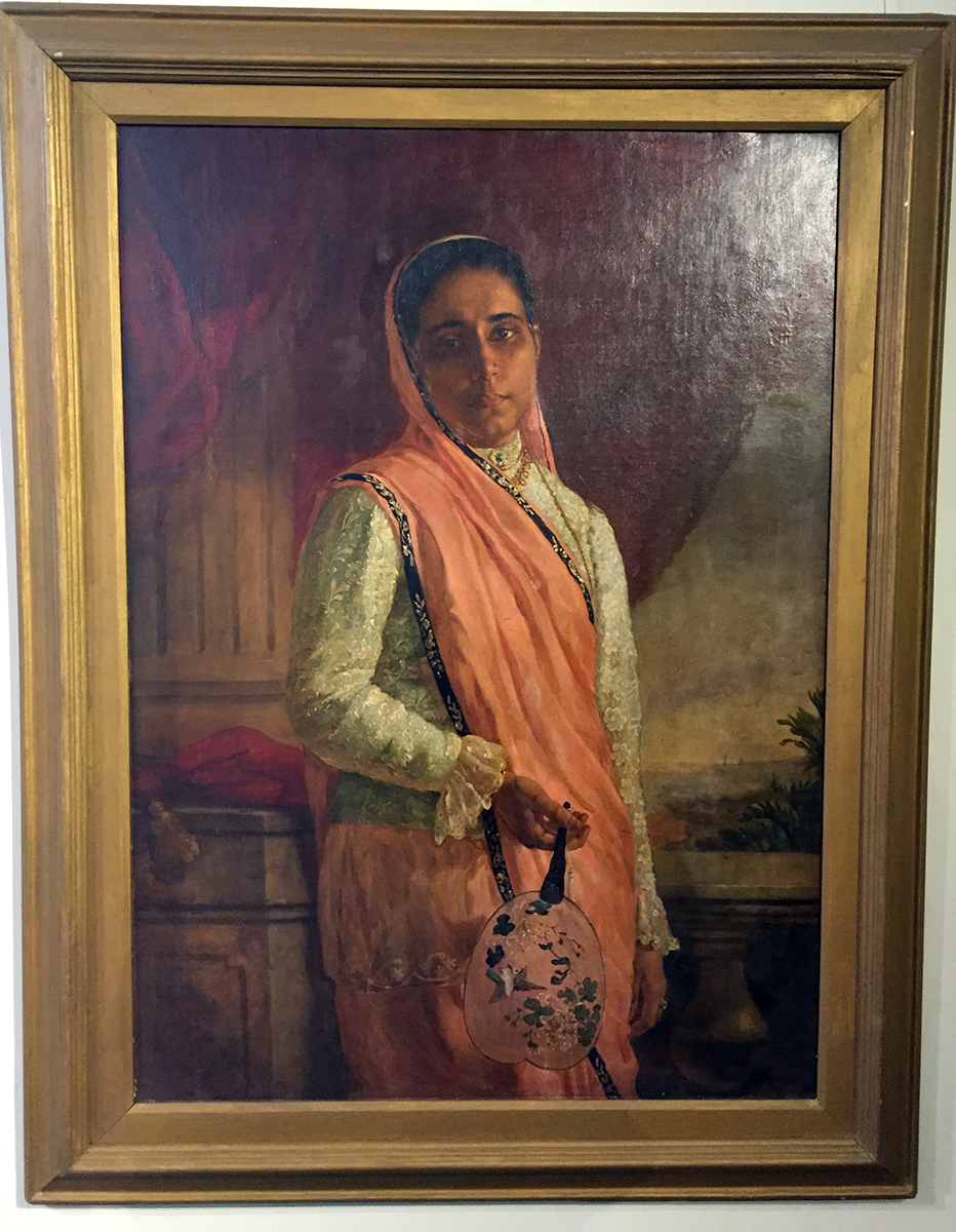 Portrait of a Parsi Girl, by MF Pithawala. Photo credit: Chanpreet Khurana