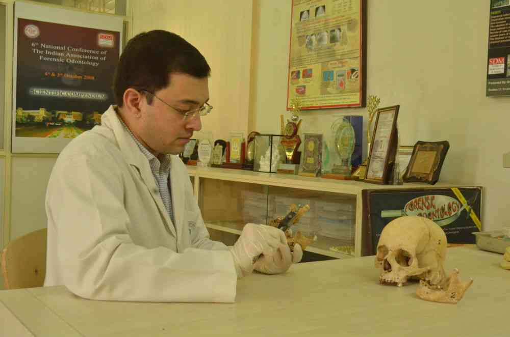 Forensic Odontology Is Still A Nascent Field In India With Only A Handful Of Full Time Experts
