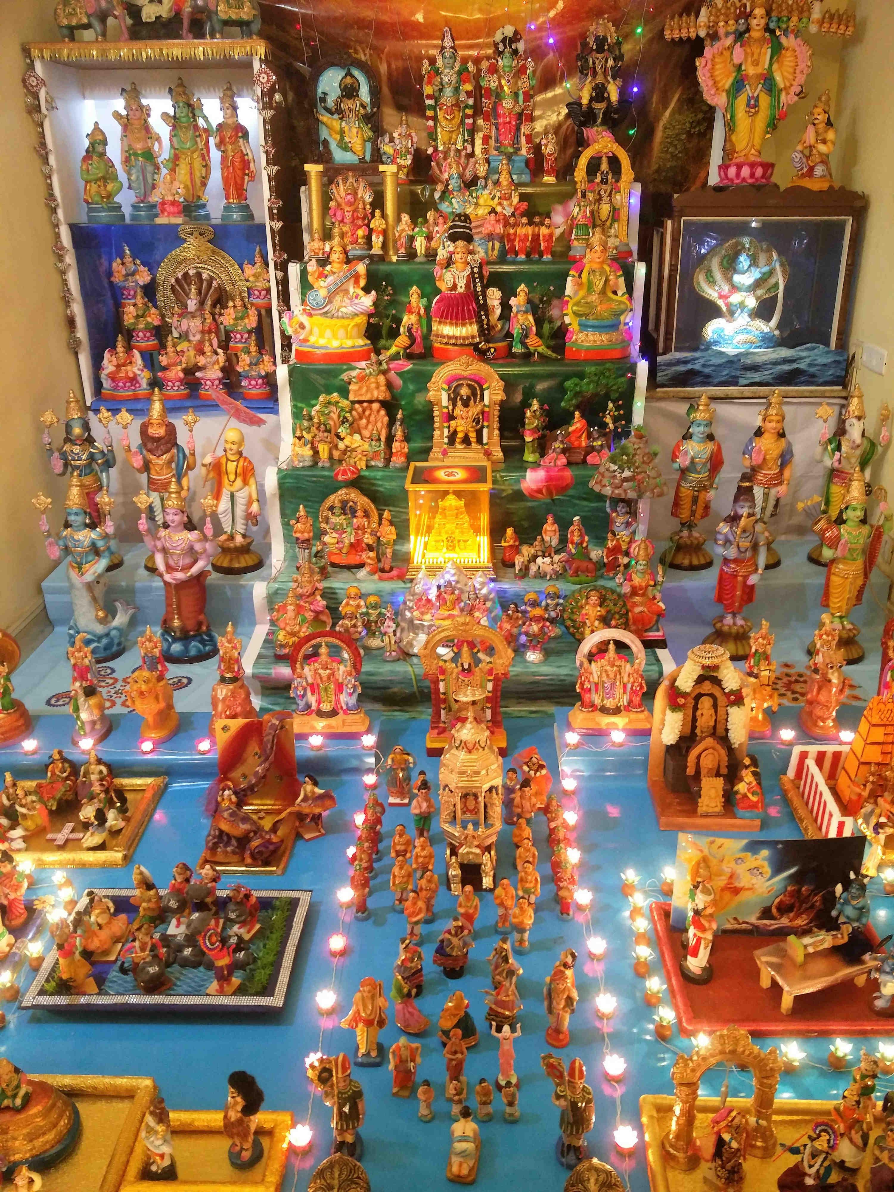 Photos: This Navratri, golu arrangements in Chennai reach