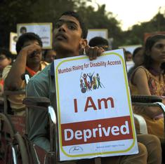 Nearly 2,000 Indian laws discriminate against differently-abled persons. Here are five