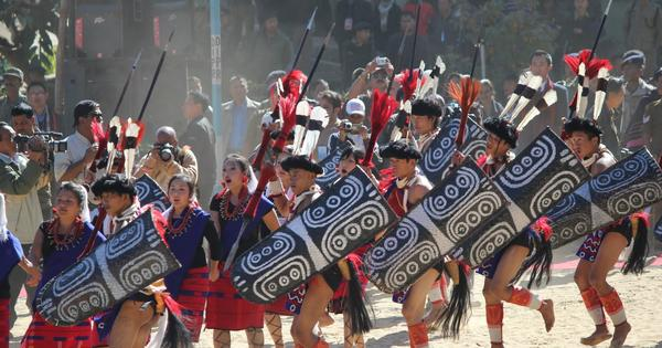 Photos: The many colours and splendours of Nagaland's Hornbill Festival