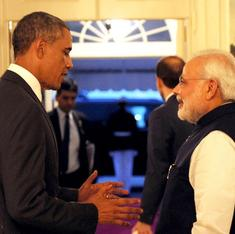 Obama and Modi discuss Indo-US ties over halibut and warm water