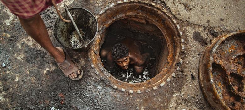 How Indian firms use dirty tricks to deny sanitation workers their rights