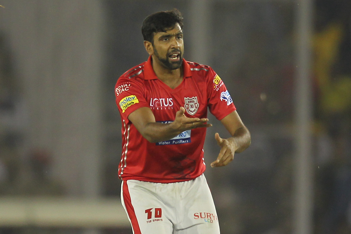 Ashwin appeals for a leg-before decision against Chennai Super Kings' Sam Billings| Image credit: Deepak Malik / IPL/ SPORTZPICS