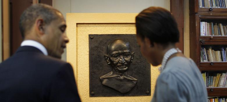 In Mumbai, Gandhi's long-time home receives few Indian visitors