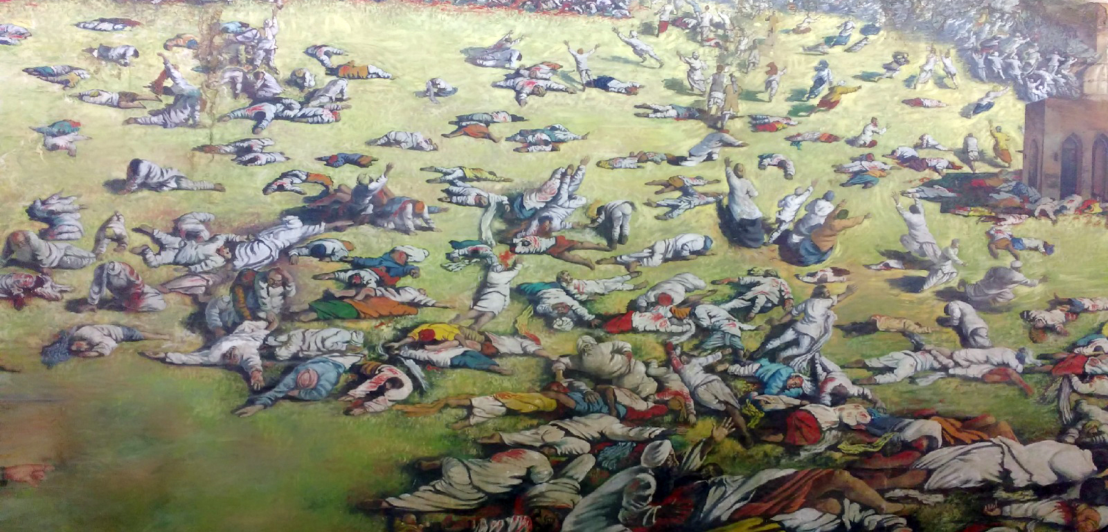 'Peppering away at niggers', the phrase often used in British memoirs, defines the colonial experience from Jallianwala Bagh in India to the Hola massacre in Kenya. Photo credit: Wikimedia Commons