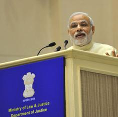 Modi's speech to judges: Even strongmen should realise that a robust judiciary is vital for democracy