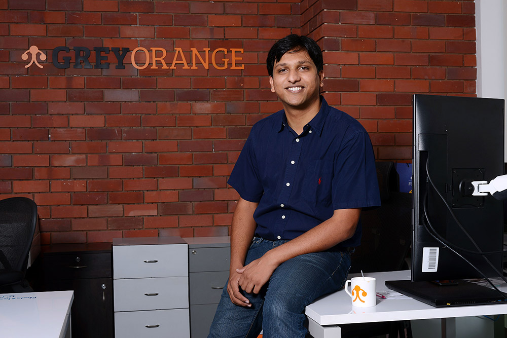 "Gupta: ""I was always the person who went super deep into technology."" Photo credit: GreyOrange"
